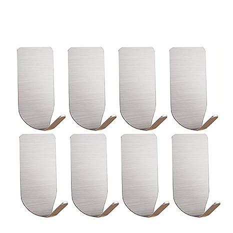 Amazon.com: Ganchos adhesivos – ganchos de pared resistentes ...