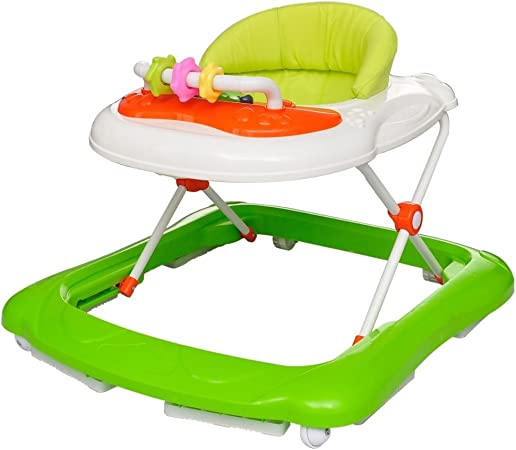 H/öhenverstellbar Geeignet f/ür Babys von 6 bis 12 Monaten XWDQ Baby Lauflernhilfe Faltbar