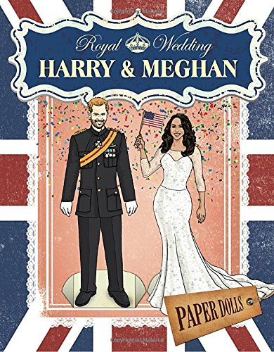 Royal Wedding: Harry & Meghan Paper Dolls cover