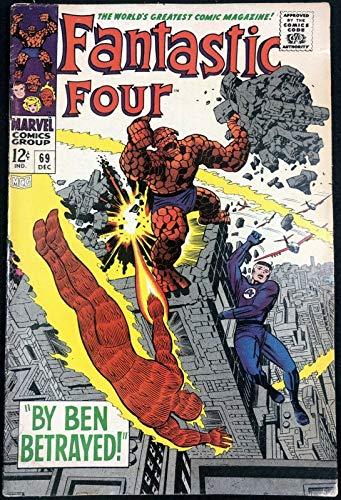 Fantastic Four (1961) #69 VG+ (4.5)