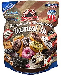 Max Protein Harina de Avena 3kg American Brownie