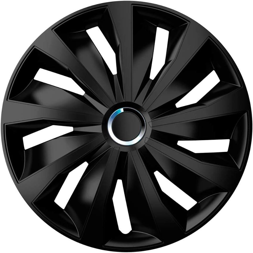 Autostyle Grip Pro 14 Black Satz Radzierblenden Grip Pro 14 Zoll Schwarz Auto