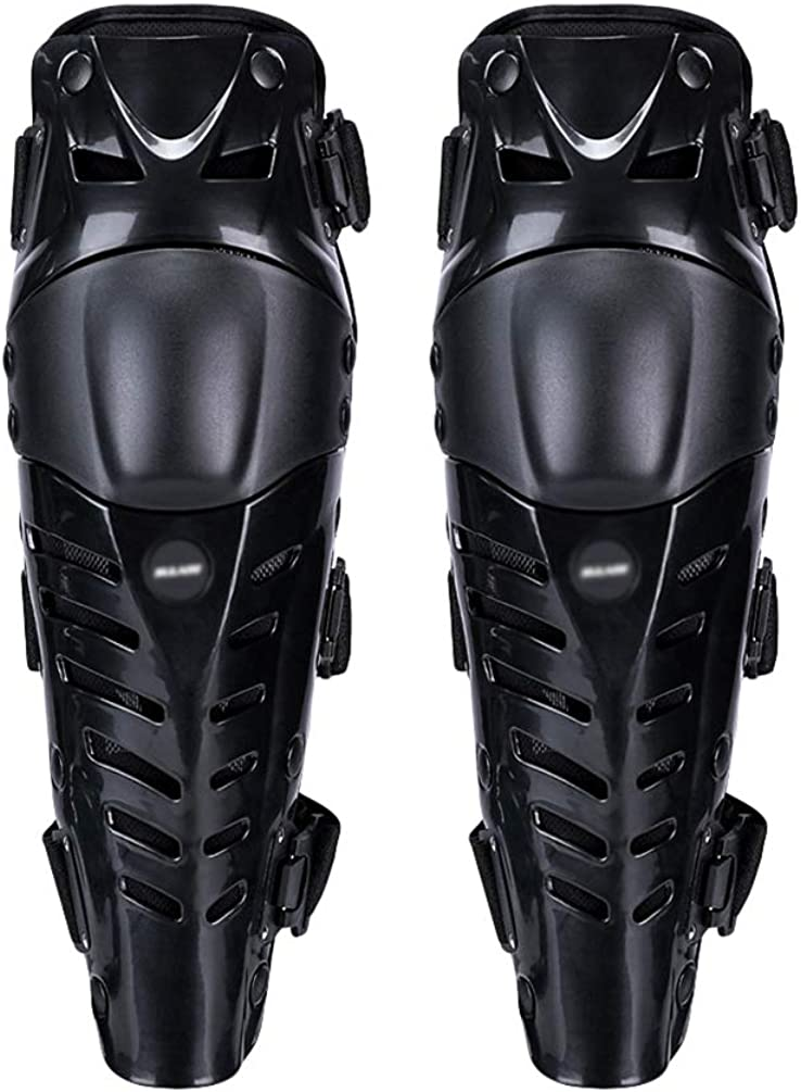 GladiolusA Motorrad Knieschoner Racing Knie Und Schienbeinschoner Knee Guard Schutzausr/üstungen F/ür Motocross Motorrad Fahrrad Skateboard-Fahrrad