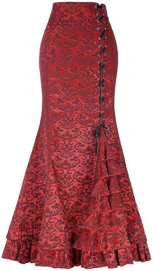 Vestido de Noche de Las Mujeres Falda Larga Vintage for Mujer ...
