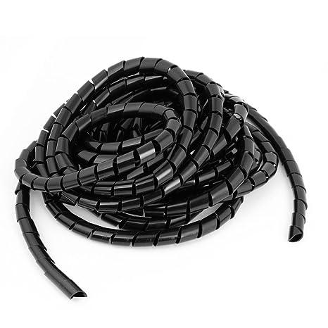 Amazon.com: 6,5 m Flexible Negro PE Polietileno Cable ...