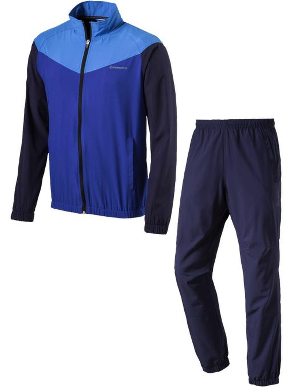 Energetics Herren Präsentationsanzug Trainingsanzug FINLEY + FLO navy   blau