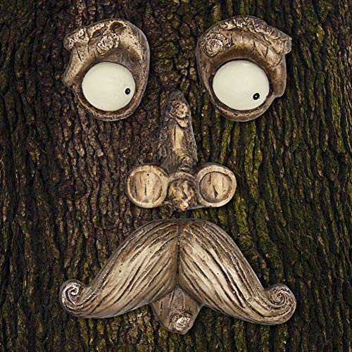 EnHoHa Old Man Tree Hugger Yard Art Decorations Tree Faces Outdoor Decor Garden Art -
