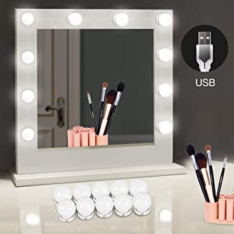 Verwonderend LED Spiegelleuchte von HOMEASY Dimmbar Spiegel Beleuchtung 10 XE-23