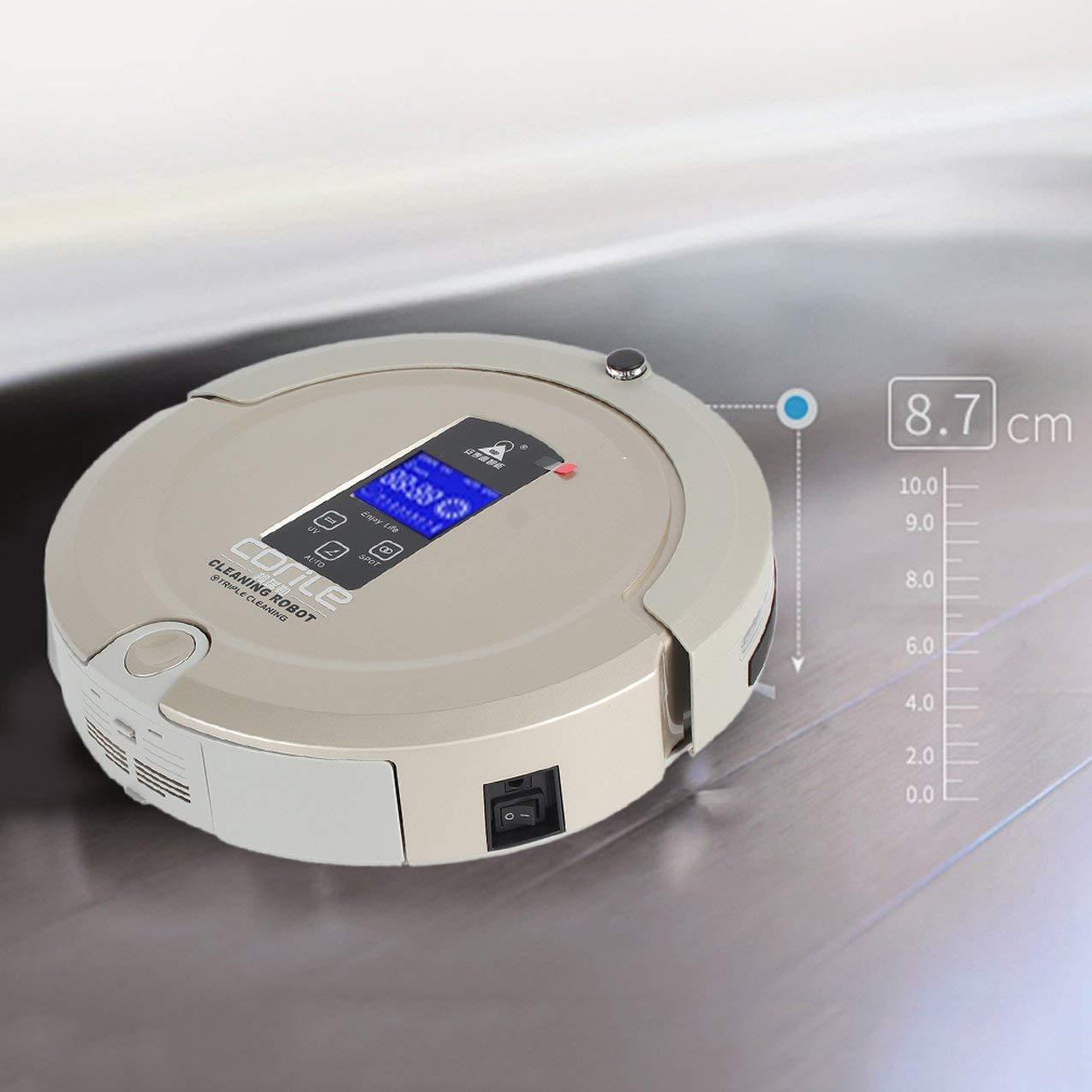 Redstrong CORILE A325S Robot de Limpieza Inteligente Pantalla táctil LCD Anti-caída Aspirador automático Completo con Tanque de Agua: Amazon.es: Juguetes y ...