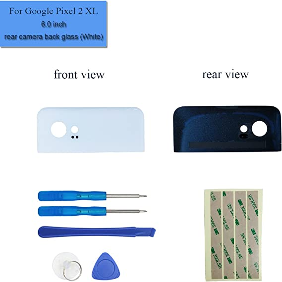 "Google Pixel 2 5.0/"" Upper Rear Glass Battery Back Cover Lens Replacement Tools"