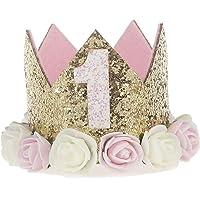 Ouinne 1 Ano de Estilo Princesa bebé Flor