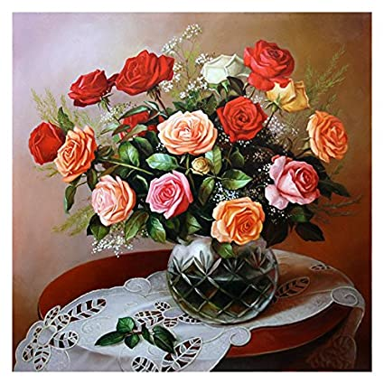 LLZZSX Pintura De Diamante/Cristal/Foto Personalizada/Pintura Decorativa/Mural/Regalo