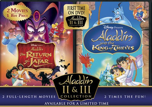 The Return of Jafar/Aladdin and the King of Thieves (Aladdin 2 & 3 Collection) by Buena Vista Home Video