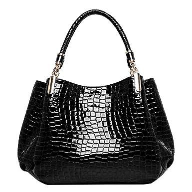 442cddd66088ca Leather Handbag Shoulder Bag,Rakkiss Woman Messenger Tote Large Capacity Bags  Vintage Messenger Satchel Bags