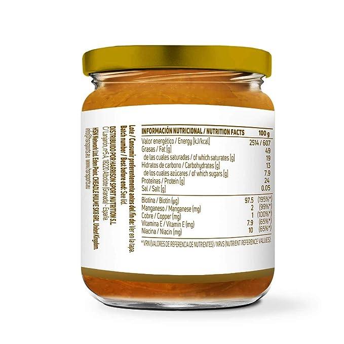 Mantequilla de Cacahuete con Coco y Miel de HSN Foods   100% Natural   Peanut Butter   Apto Vegetariano - Sin grasa de palma - Sin grasa trans - Sin azúcar ...