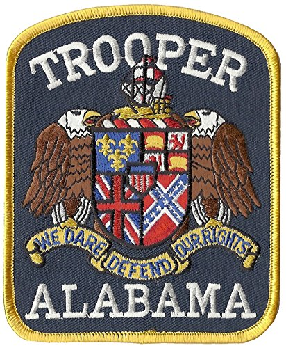 (Alabama State Trooper Shoulder Patch 5