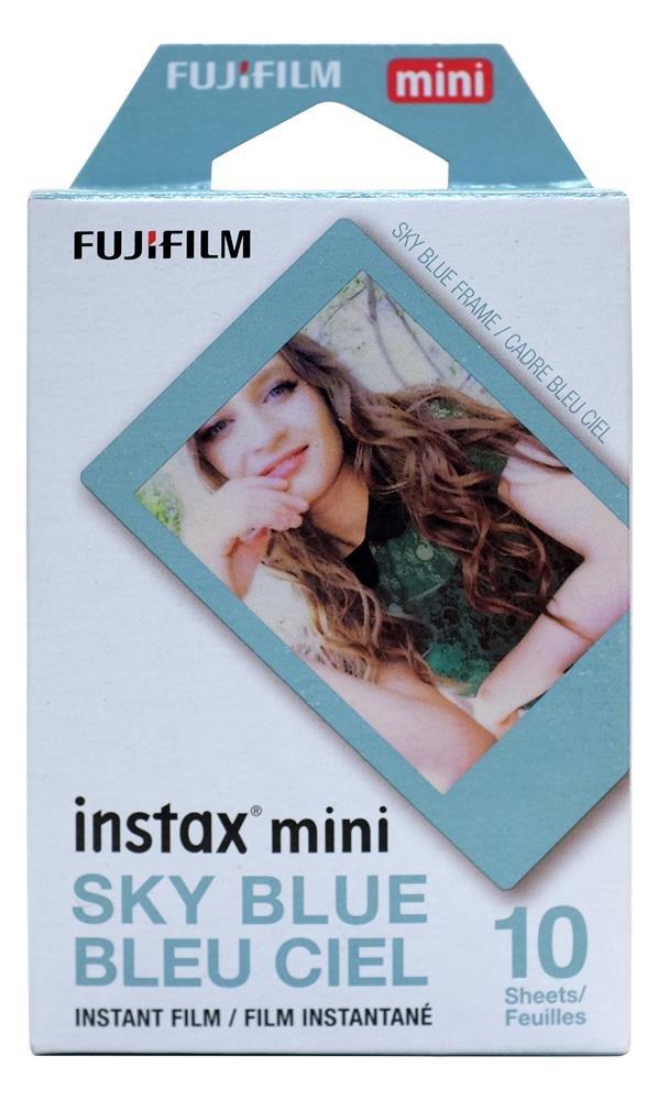 Fujifilm Instax Mini Film, Sky Blue Fujifilm Canada Instax Mini Film - Sky Blue