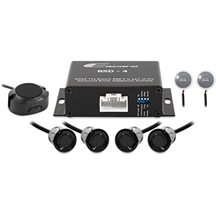 Amazon.com: ENC-BSD4B Black Blind Spot Detection Sensors (4 Sensor System): Automotive
