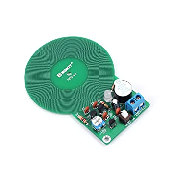 10 unids DC 3-5V DIY Kit Metal Sensor Metal Detector Kit Electrónico DIY Kit Sensor sin Contacto Módulo Detector de Metal DIY Electrónico: Amazon.es: ...