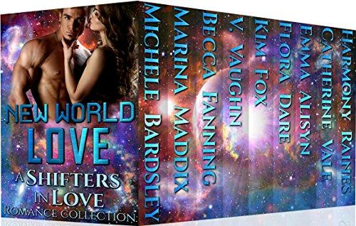New World Love: Alien Romance (Shifters in Love Book 6) cover