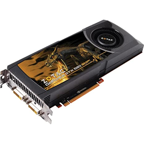 Amazon.com: Zotac GeForce GTX 580 Amp. Edition – Tarjeta ...