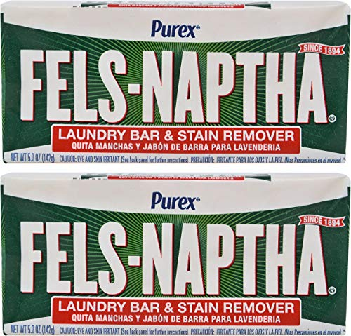 偶然耐久デジタルFels Naptha Heavy Duty Laundry Soap Bar - 5.5 oz - 2 pk by Fels Naptha