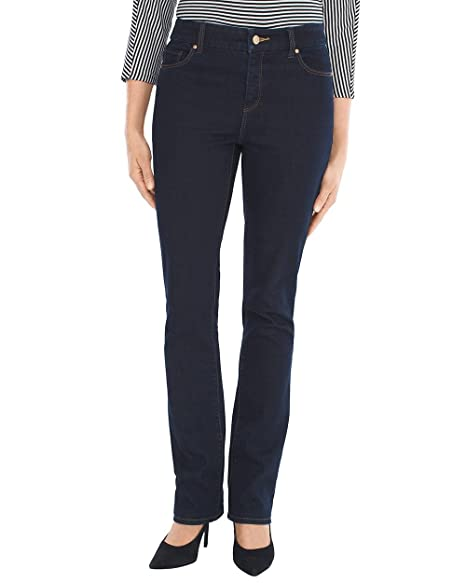 Amazon.com: Chicos So Slimming - Pantalones vaqueros para ...
