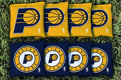 NBA Replacement All Weather Cornhole Bag Set NBA Team: Indiana Pacers