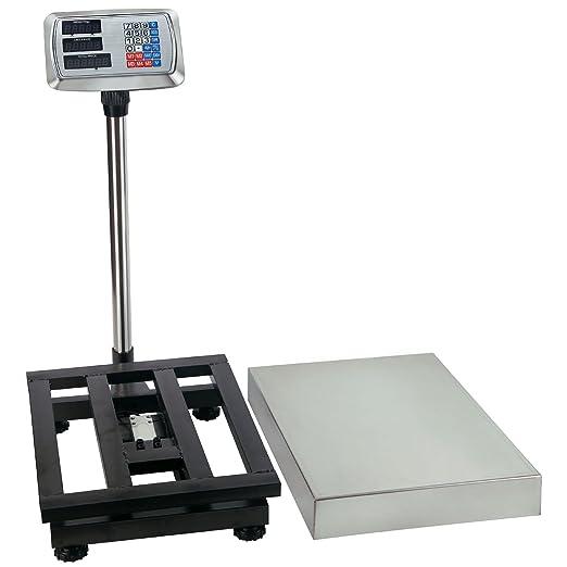 Digital Industrial piso plataforma envío postal Escala Peso franqueo correo acero: Amazon.es: Oficina y papelería
