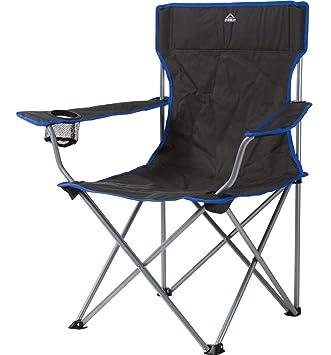 McKINLEY Confort Chaise Pliante, Anthracite: