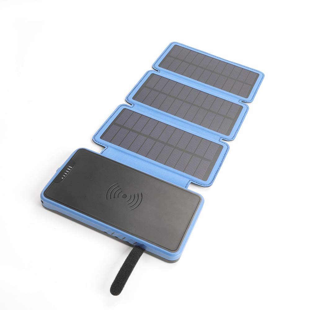 MYYING ELE Solar Cargador Inalámbrico Rápido Power Bank ...