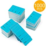 Metronic Price Tags, Perforrated Merchandise Marking Tags, One-Part Paper Tags, 1-1/4 x 1-7/8 - Inches Marking Tags, Pack of 1000 (Blue)