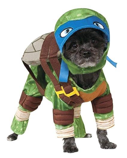 Horror-Shop Las tortugas ninja Leonardo Hundekostüm M ...