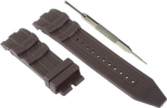 26mm Gummi Schwarz Armband Uhrband Uhrarmband für Invicta Pro Diver 6977 6978