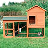 Trixie Rabbit Hutch with Outdoor Run 62332