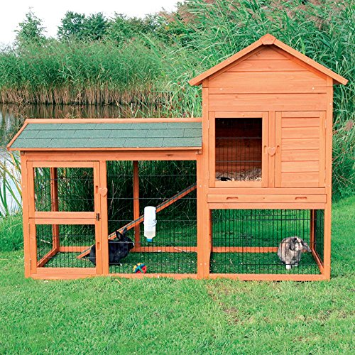 (Trixie Rabbit Hutch with Outdoor Run 62332)