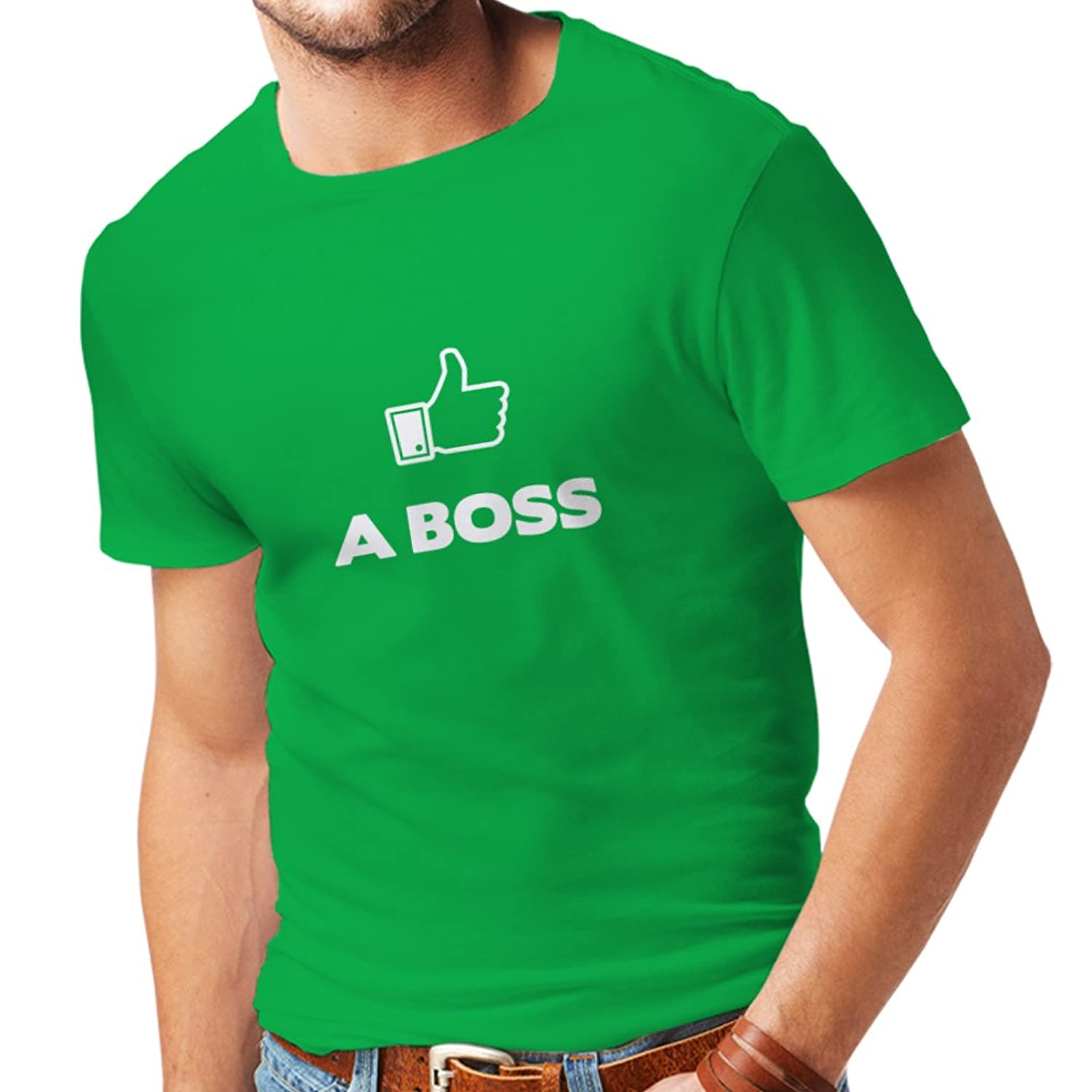 N4100 Like a Boss funny gift t-shirt