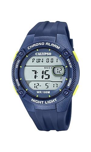 Calypso Watches Reloj Digital para Hombre de Cuarzo con Correa en Plástico K5765/5: Amazon.es: Relojes