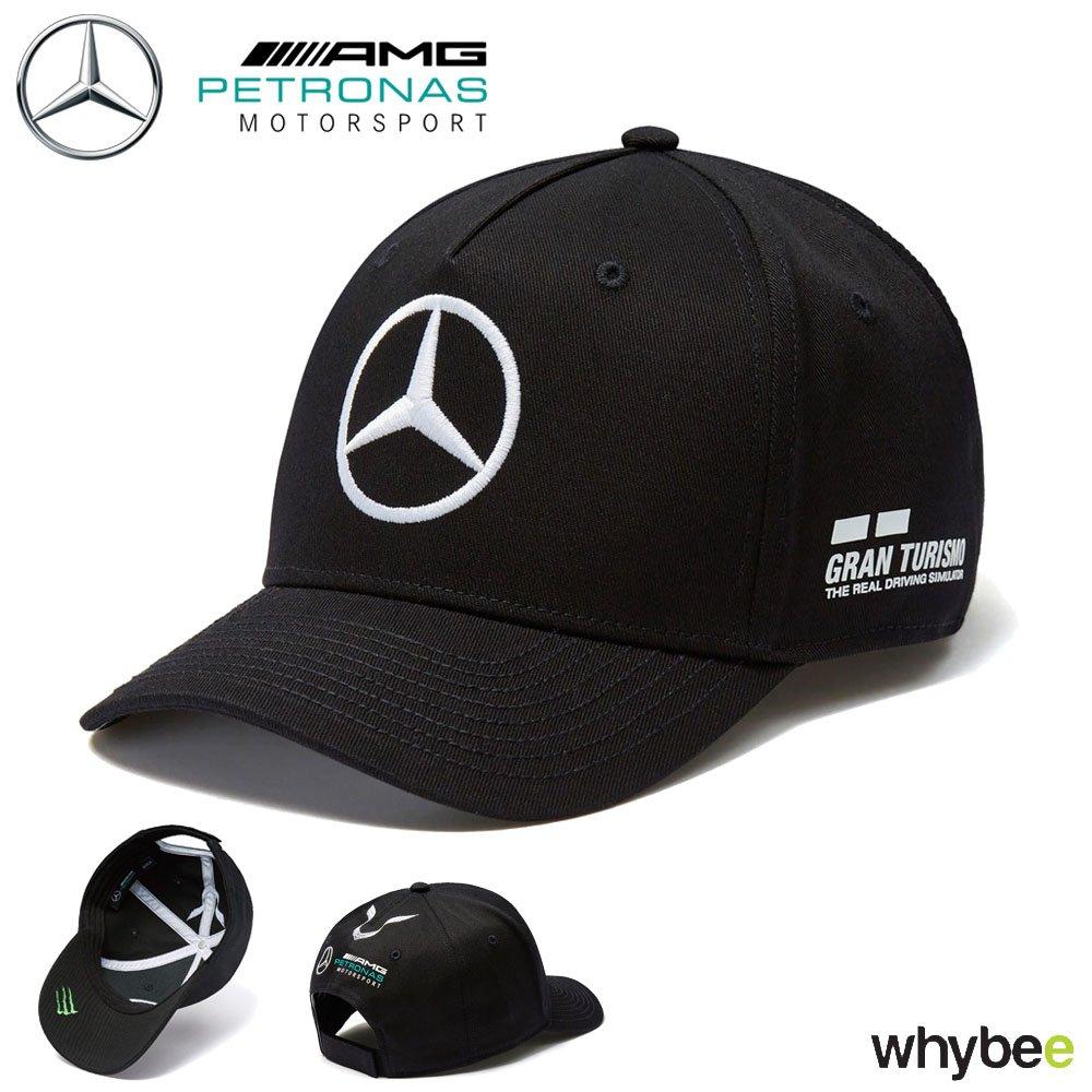 2018 Mercedes-AMG F1 Lewis Hamilton Drivers Cap (BLACK) Adult One Size Mercedes-AMG Petronas Formula One Team