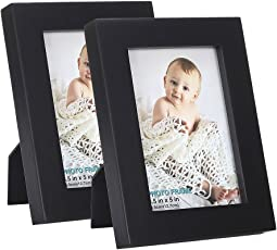 RPJC 4x6 Inch Picture Frame Made Of Solid Wood And High Definition Glass  For Table Disply