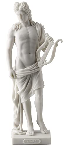 Apollo – Greek God of Light, Music and Poetry Statue White Finish
