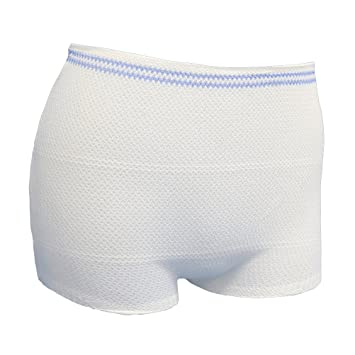 760d02f28af96 Image Unavailable. Image not available for. Color: Postpartum Underwear  Carer High Waist Disposable Maternity Mesh ...