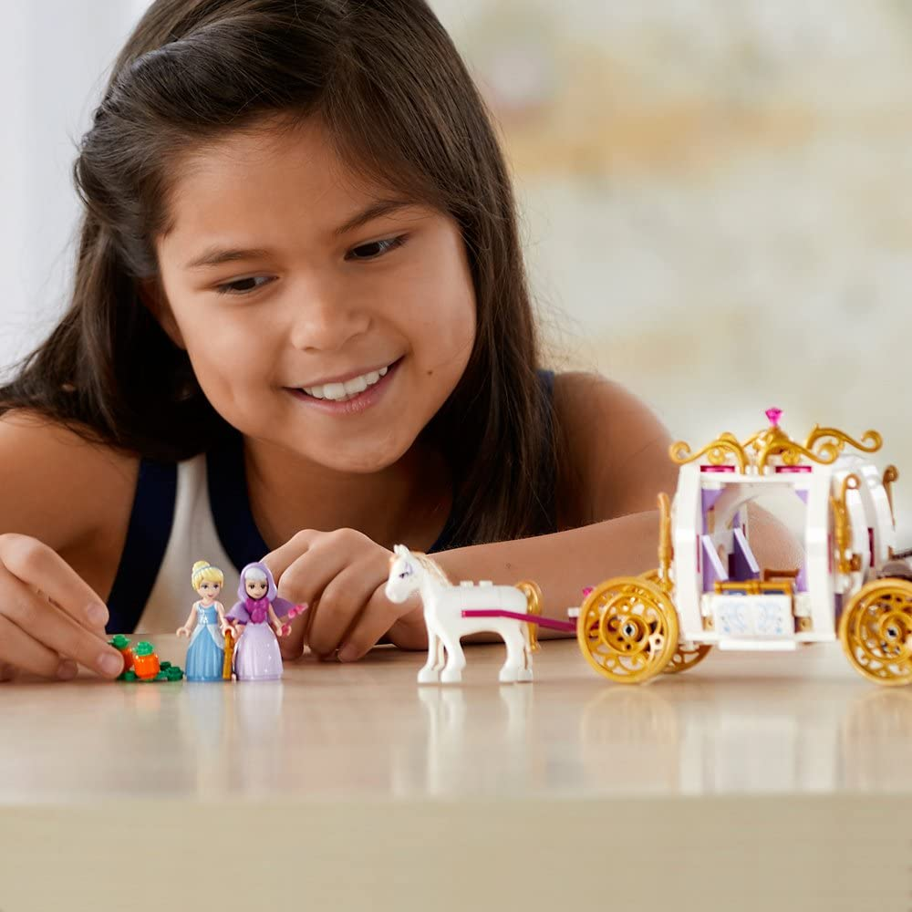 LEGO Disney Princess Cinderella\'s Enchanted Evening 41146 Building Kit (350 Piece)