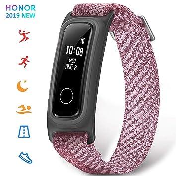 HONOR Band 5 smartwatch,Pulsera de Actividad Inteligente Reloj Impermeable IP68 con Pulsómetro, Monitor de Sueño, Podómetro, Oxígeno en la Sangre ...