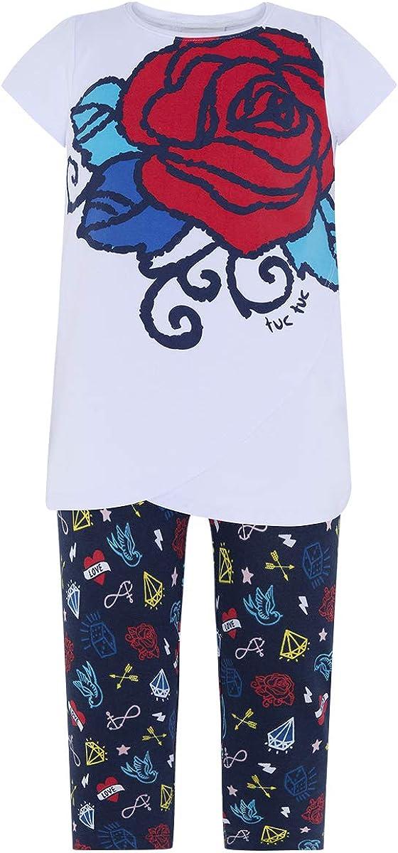 Tuc Tuc Camiseta+Leggings Punto Ni/ña Tattoo Conjunto de Ropa para Ni/ñas