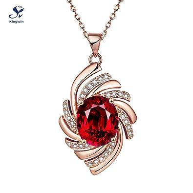 Ebay explosión joyería Europea hembra collar diamond oro ropa cadena cristales joyería mujeres collar colgante mejor regalo de Navidad Packed: Amazon.es: ...