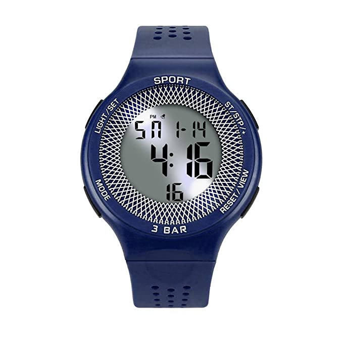 BIBOKAOKE Reloj Deportes Clásico Smartwatch LED Pantalla Digital ...