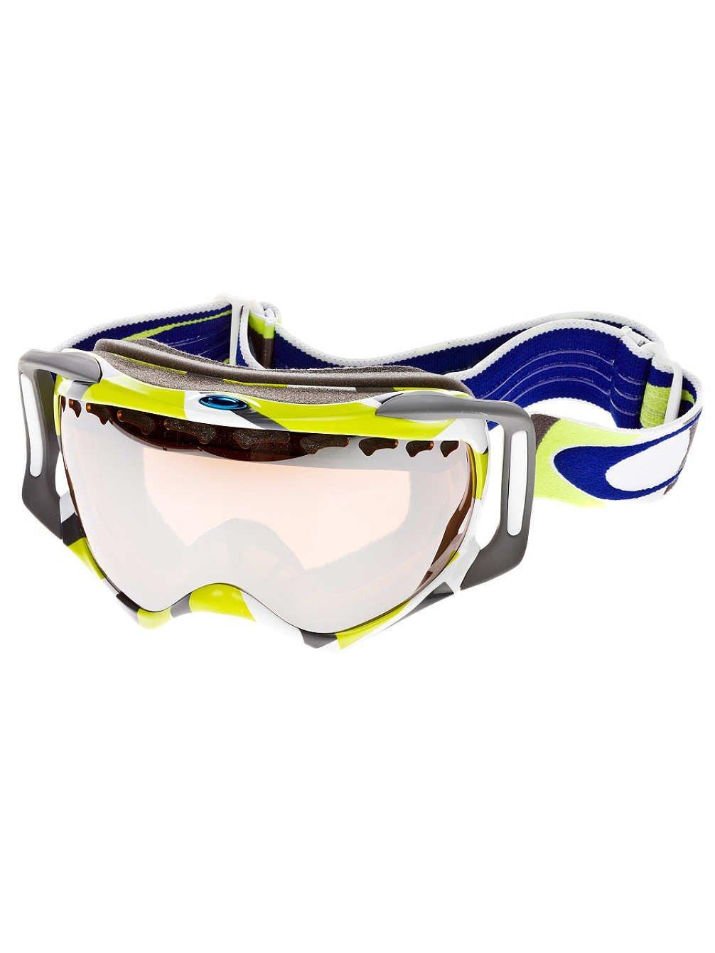 Oakley Crowbar Goggle Factory Slant 2 Green W/Blk Irid, One Size by Oakley