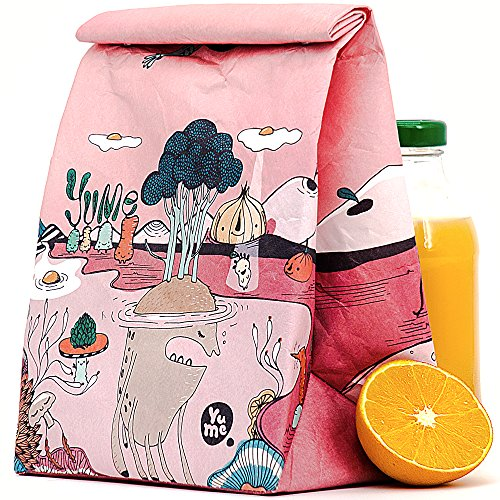 Sacks for Teen - Lunch Box Bags for Girls Boys - for Teens Insulated Lunch Sack (Yumeland) ()