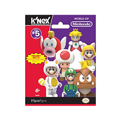 KNEX Super Mario Series 5 Blind Bags (Single Packet): Toys & Games